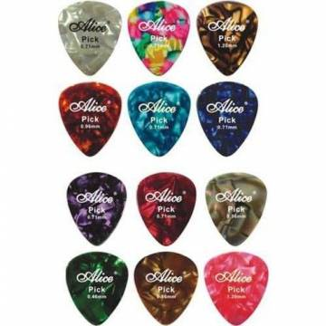 Alice Guitar Pick (Celluloid)