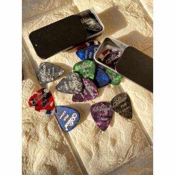 Guitar Pick Case - Black